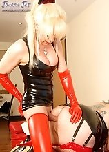 Shemale Fetish Passion - Latex Bitch
